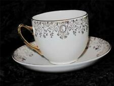 Porcelain/China Cups & Saucers Date-Lined Ceramics (1940s & 1950s)