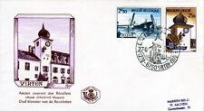 Belgien 1593-94 FDC, 700 Jahre Viton, 200 Jahre Zelzate, ESST-VIRTON