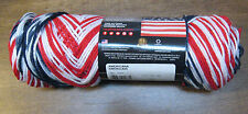 New Red Heart Americana Super Saver Yarn 5 oz 236 Yd Patriotic Red White Blue