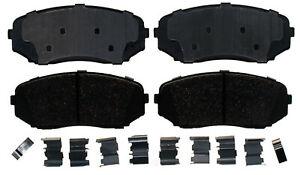 Disc Brake Pad Set-Ceramic Disc Brake Pad Front ACDelco Pro Brakes 17D1258ACH