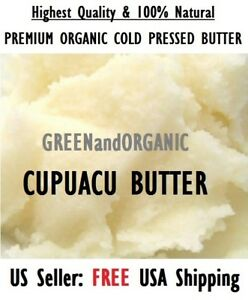 2oz Premium Organic CUPUACU BUTTER RAW NATURAL COSMETIC Theobroma grandiflorum