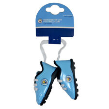 MANCHESTER CITY FC BOOT CAR HANGER WINDOW ACCESSORIES NEW XMAS GIFT
