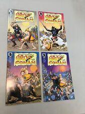 Groo Vs. Conan Sergio Aragones 1-4 Set 1 2 3 4 Dark Horse Comics 2014 (SA02)