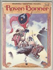 Marvel Graphic Novel #15 1985 VG/FN Raven Banner: A Tale of Asgard 1st Print
