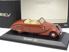 Norev 1/43 - Peugeot 402 Eclipse Marrone
