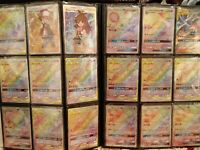 Pokemon Cards Lot  Mixed 100 TCG Binder Collection holo secret ex gx lot 1st ed