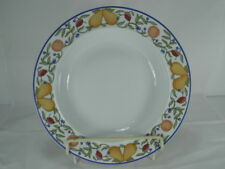 "DANSK **FIANCE FRUITS** RIM SOUP BOWL(S)-8-3/4""-EXCELLENT-VHTF"
