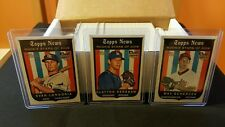 2008 Complete Topps HERITAGE HIGH SERIES BASE SET *** (185) Cards   MINT