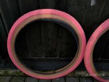 Pink Mitsubishi compe Tyres 20 x 1.75 old school BMX