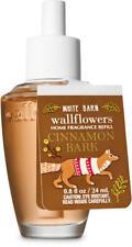 4pcs Bath & Body Works Wallflowers Diffuser Refill Bulbs ~ Cinnamon Bark FALL