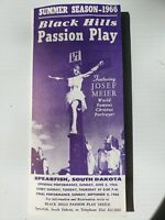 Vintage Tourist Brochure - Black HIlls Passion Play- Summer 1966