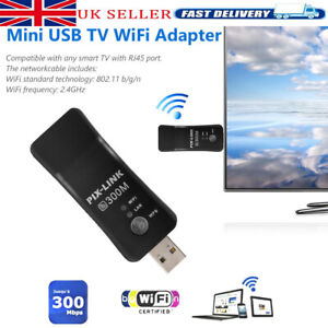 Wireless LAN Adapter WiFi Dongle RJ-45 Ethernet Cable For Samsung Smart TV UK