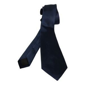 "Crewcuts By J.crew Boys 52"" Neck Tie Blue Textured 100% Silk One Size New"