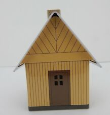 New Small Yellow Metal Smoker House Made by Crottendorfer Germany
