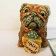 Harmony Ball Pot Bellys Dog Days Happy Birthday Wishes Treasure Box 2002