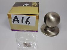 DESIGN HOUSE DUMMY DOOR KNOB BALL NEW SATIN NICKEL 781856