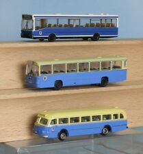 Lemke Minis LC 3519, LC3933, Minitrix 65405 , Spur N, 3  Busse der MVG München