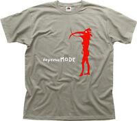 depeche mode electronic music cd album zinc cotton t-shirt 0627