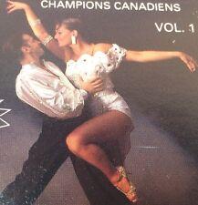 DANSE SOCIALE AVEC LES CHAMPIONS CANADIENS Tape Cassette (Vol.1) 1992 PGM4-1310