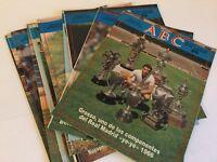Lote 15 Suplementos ABC historia viva del Real Madrid 1987