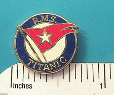 R M S  RMS TITANIC - hat  pin , lapel pin , tie tac , hatpin  GIFT BOXED jb