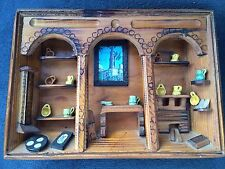 DIORAMA Unique Handmade Abstract Wood Room Middle East Egyptian Turkey Wall Art