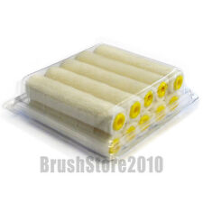 "Box of 10x 4"" Simulated Mohair Mini Radiator Roller Sleeves"