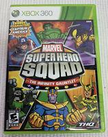 Marvel Super Hero Squad: The Infinity Gauntlet (Xbox 360, 2010) Complete