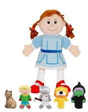 Fiesta Crafts WIZARD OF OZ HAND & FINGER PUPPET SET Soft Toy BN