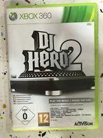 Xbox 360 Dj Hero 2 Espagnol Anglais Allemand Français Italien Pal