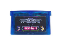 SMS 106 in 1 Games Sega Master System for Game Boy Advance SP NDS  Multicart USA