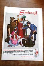 Pub Ad Vodka Smirnoff 1968
