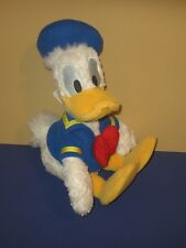 "New Disney Theme Park World Donald Duck 16"" Stuffed Plush in Sailor Outfit"