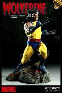 SIDESHOW WOLVERINE PREMIUM FORMAT Figure EXCLUSIVE Statue X-MEN Marvel Bust TOY
