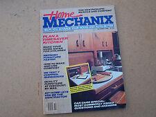 Home Mechanix Magazine Back Issue October 1986