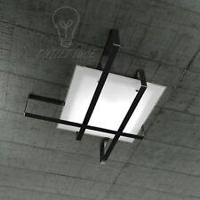 PLAFONIERA/APPLIQUE TOP LIGHT MODELLO CROSS 1106/100 - NE (NERO)