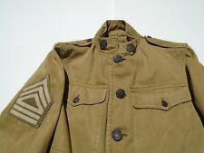 Original WW1 Summer Weight Cavalry Uniform With Nice Collar Insignia