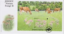 Unaddressed Jersey FDC First Day Cover 2006 Jersey Nature-Fungi II Sheet