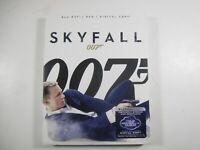 Skyfall 007 w/ slipcover (Blu-ray+DVD+Digital Copy) Bond spy movie Daniel Craig