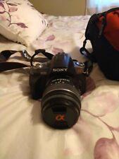 Sony Alpha DSLR-A330 10.2MP Digital SLR Camera - Black (Kit w/ DT SAM 18-55mm...