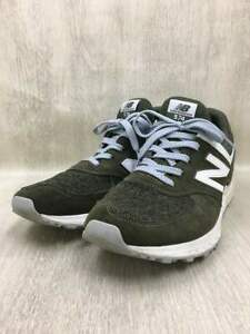 New Balance Used Ms574Bm/Low-Cut Sneakers/Khaki/Shoes