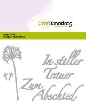 Stanz-/Prägeschablonen In stiller Trauer Kondolenz CraftEmotions 115633/0424
