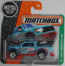 Matchbox - 2010 Ford F-150 SVT Raptor hellblau Neu/OVP