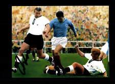 Just Fontaine Frankreich Heinz Wewers DFB WM 1958 Foto Original Sign+A 150854