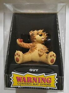 """Bad Taste Bears """"GUY"""" Novelty Collectible NIB Warning Contents May Offend"""