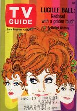 1967 TV Guide July 15 - Lucille Ball; Stage 67; Expo 67; Miss Germany; Baseball