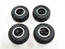 NUEVO Traxxas Slash 1/10 2wd Ruedas & Neumáticos Plata Anillos Especial vxl