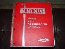 Corvette 53-72, Chevy 46-64,Chevy Truck 46-65 and More Master GM Parts Catalog