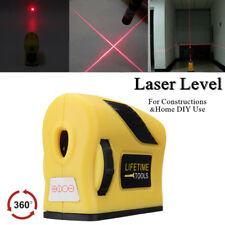 High Magnetic 360° Cross Laser Level 2 Line 1 Point Horizontal Vertical Measure