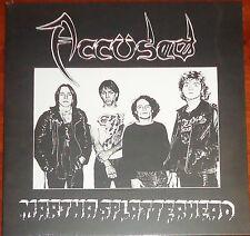 """Accused / The Accüsed - Martha Splatterhead 12"""" EP - New Black Vinyl RE (2014)"""